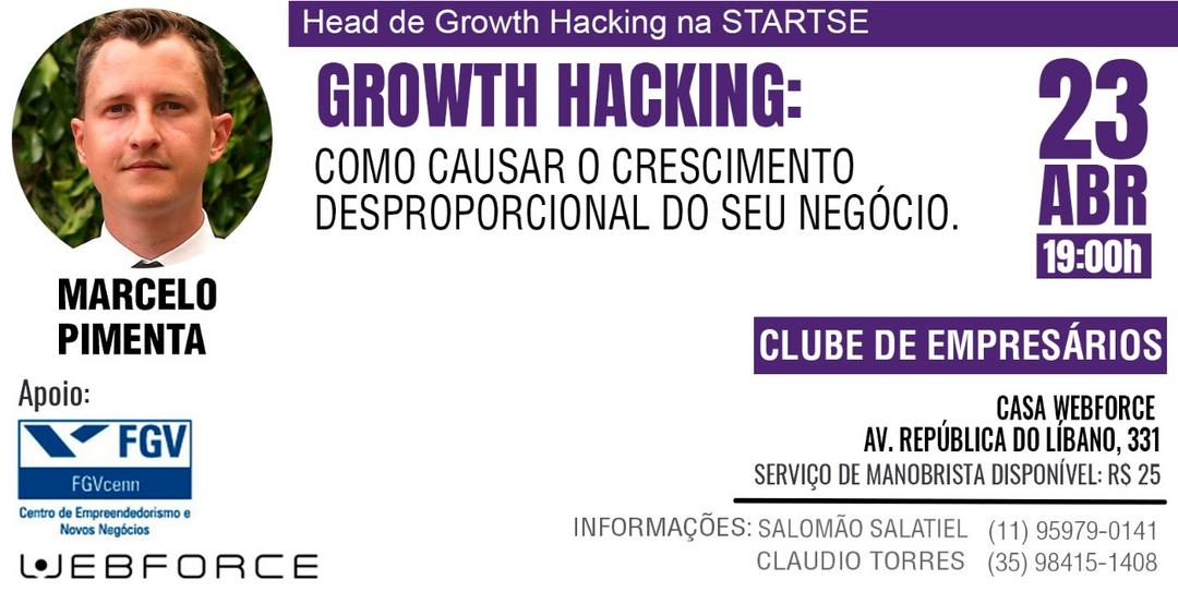 Convite Especial - Clube de Empresários WEBFORCE