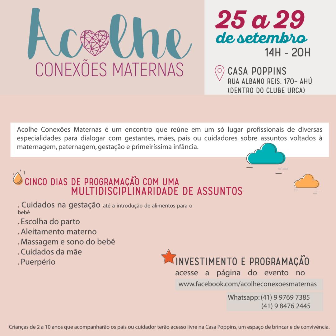 Mães empreendedoras lançam evento sobre acolhimento materno-infantil em Curitiba