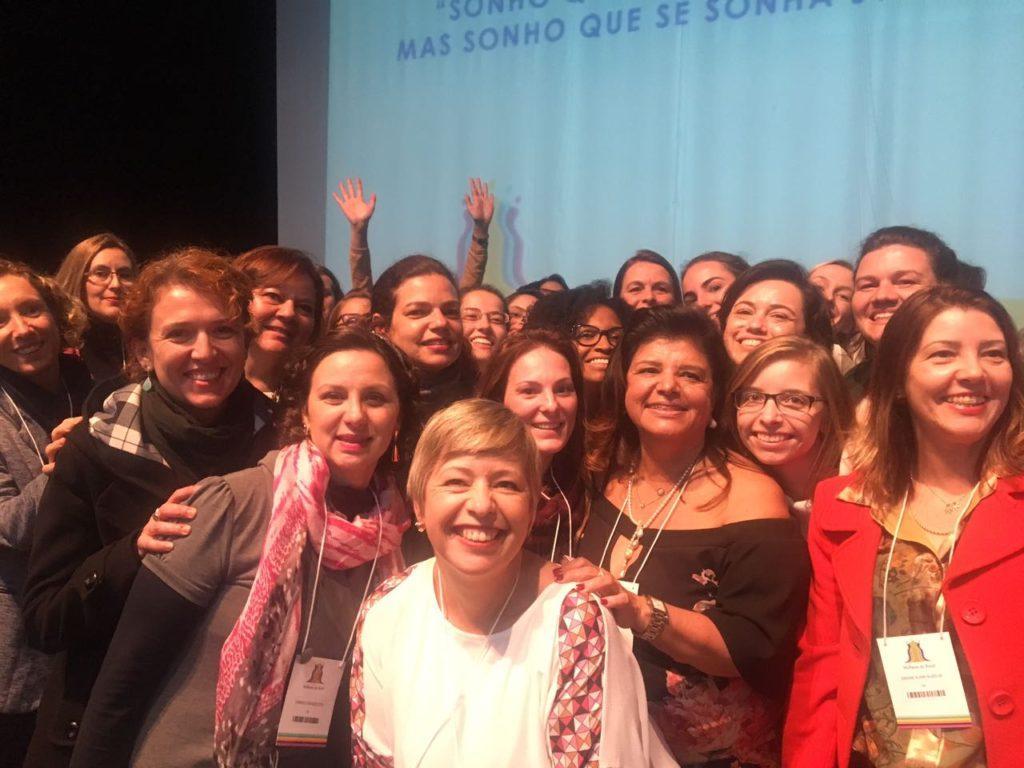 Confraria ROSA do Empreendedorismo Rosa se faz presente no evento de lançamento do Grupo Mulheres do Brasil em Curitiba