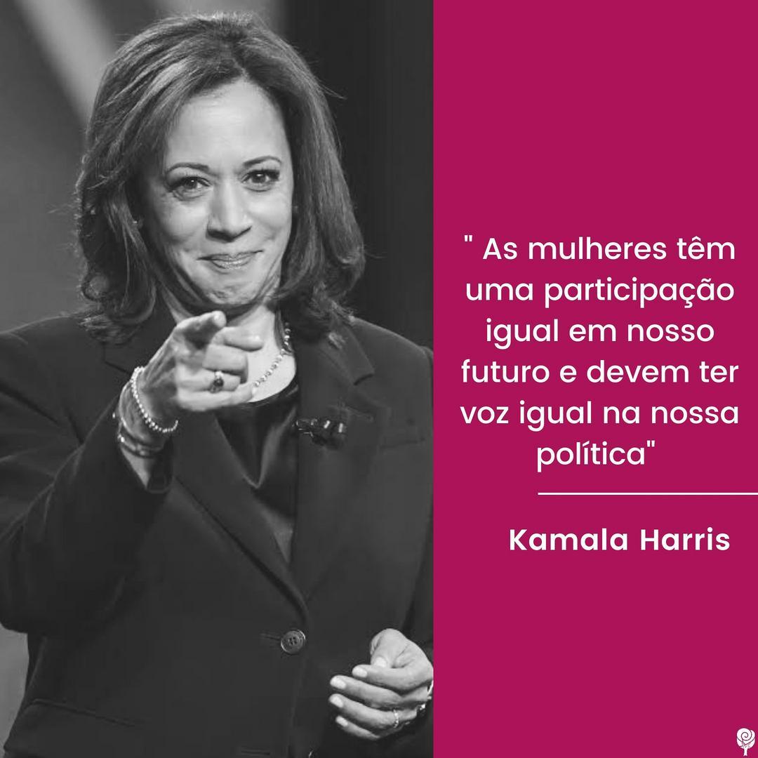 Kamala Devi Harris é uma mulher acostumada com o pioneirismo.