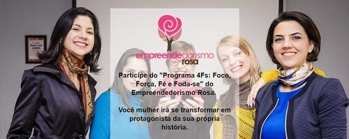 Participe da Semana do Empreendedorismo Rosa - Evento online e gratuito