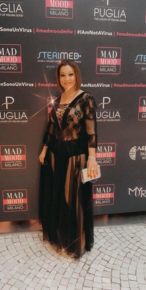 A Influencer Brasileira Mônica Matarazzo, marcou presença no Milano Fashion Week 2020