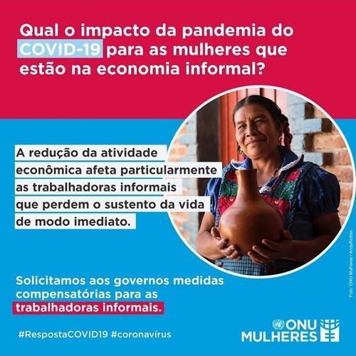 Qual o impacto da pandemia do Covid-19 para as mulheres que estão no mercado informal?