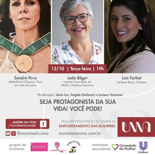 Movimento UMA debate sobre efeitos da pandemia na prevenção do câncer de mama