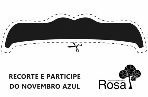 Nós apoiamos o Novembro Azul - Mês do bigode!