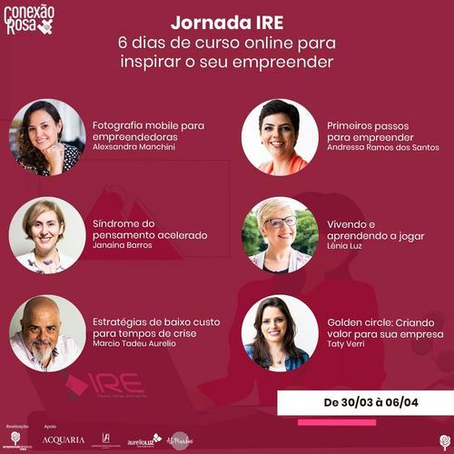 Jornada IRE : Inspire, Realize, Empreenda
