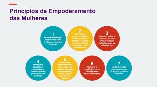 Empreendedorismo Rosa é uma empresa signatária dos Weps, da ONU