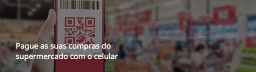 Pague as suas compras do supermercado com o celular